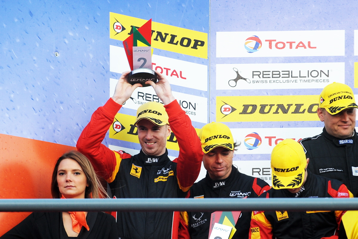 FINAL ROUND RUNNER-UP SPOT ENSURES MACDOWALL ENDS ELMS SEASON AS VICE-CHAMPION IN LMGTE