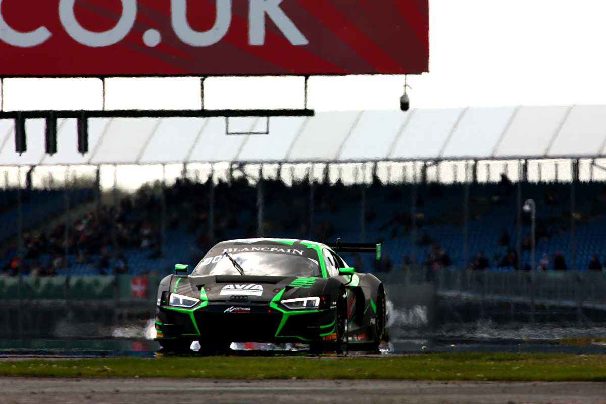 FIRST POINTS OF MAIDEN BLANCPAIN SEASON FOR MACDOWALL AT SILVERSTONE GP