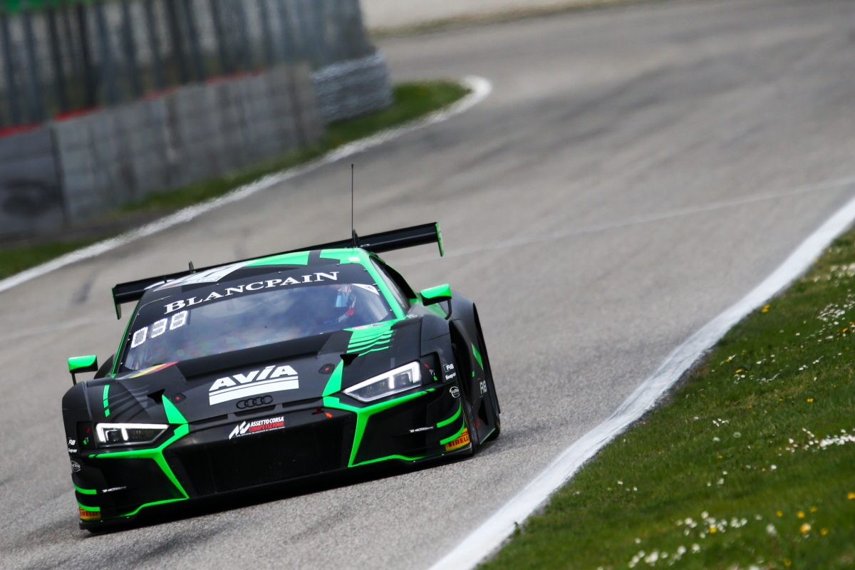 LUCKLESS START TO BLANCPAIN ENDURANCE CAREER FOR MACDOWALL AT RAIN-LASHED MONZA