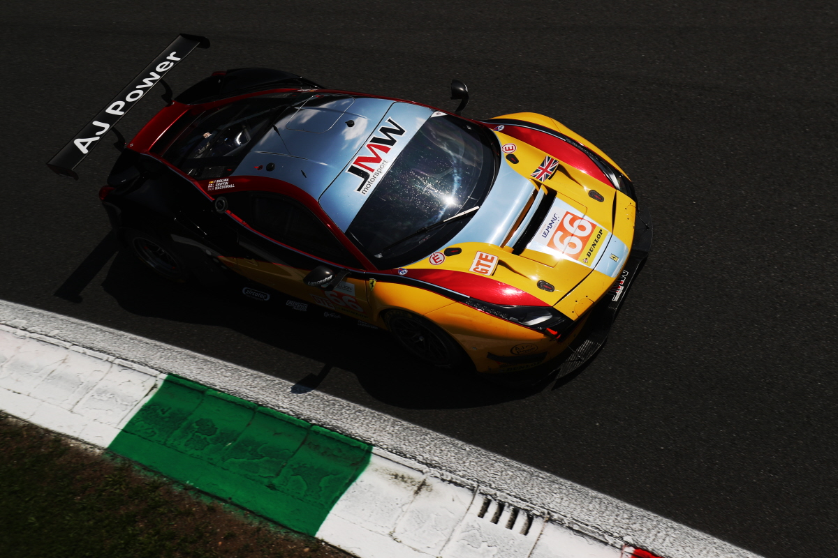 TOP FOUR FINISH FOR MACDOWALL EXTENDS LMGTE POINTS LEAD IN ELMS AT MONZA
