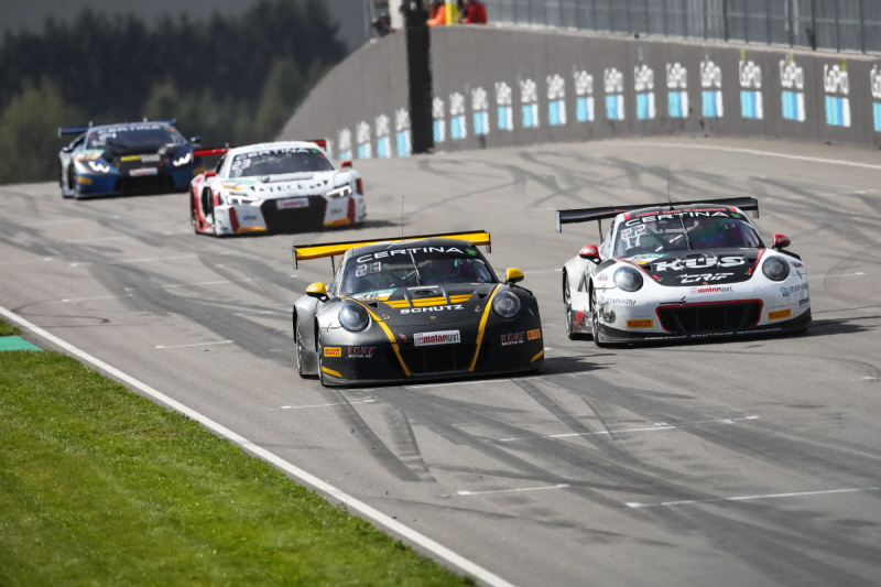 STRONG TOP SEVEN FINISH FOR MACDOWALL ON PENULTIMATE WEEKEND OF ADAC GT SEASON